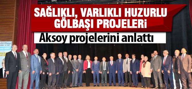 Aksoy, projelerini anlattı, meclis üyelerini tanıttı