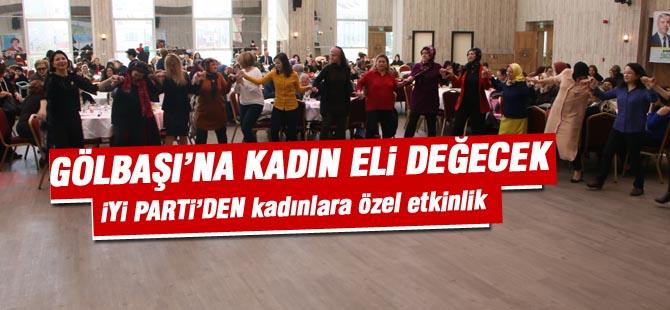 Başkan Adayı Aksoy, Kadınlarla bir araya geldi.