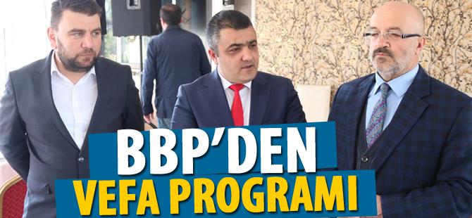 BBP'den vefa programı