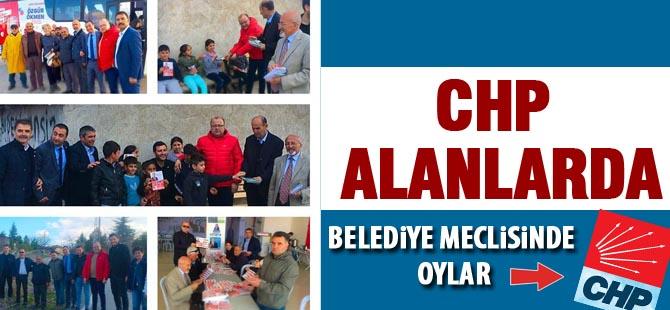 CHP'liler sahada: Belediye meclisinde oylar CHP'ye