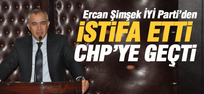 Ercan Şimşek istifa etti