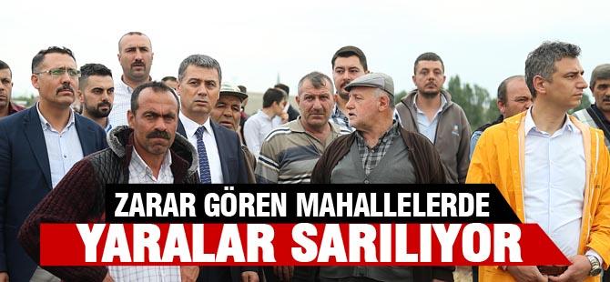YARALAR SARILIYOR
