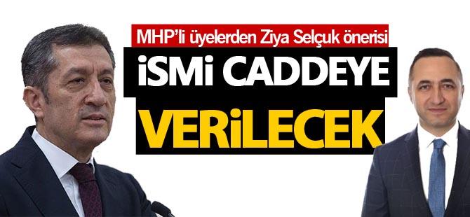 MHP'li meclis üyelerinden Ziya Selçuk önerisi