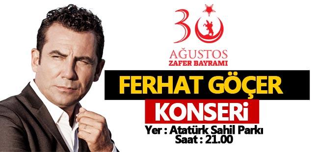 Zafer Bayramı'nda Ferhat Göçer Konseri