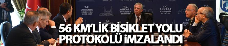 BAŞKENT'TE BİSİKLETLİ ULAŞIM ZAMANI