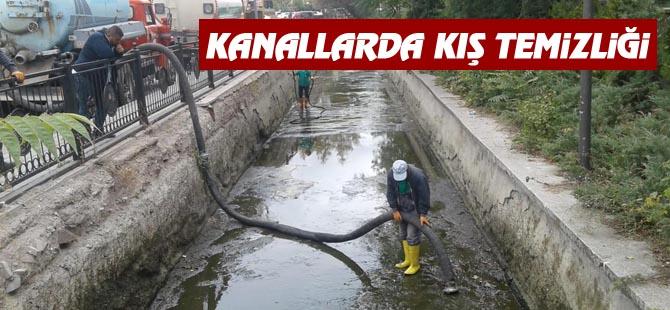 Kanallarda Kış Temizliği