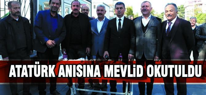 Atatürk için mevlid okutuldu