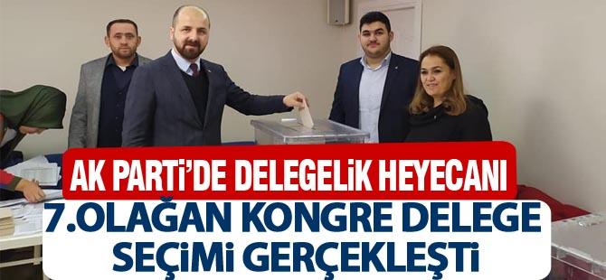 AK Parti 7. olağan delege seçimi gerçekleştirdi