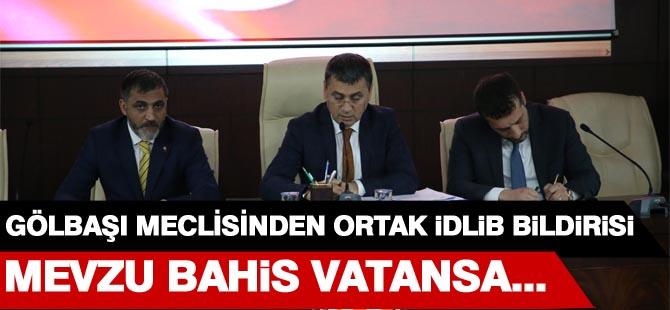Meclisten ortak İdlib kararı