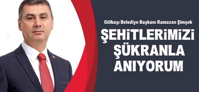 Başkan Şimşek'den 18 Mart Mesajı
