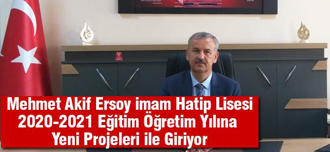 Mehmet Akif Ersoy İmam Hatip Lisesi yeni yıla hazır