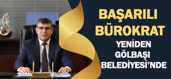 Erol Eraslanoğlu yeniden Gölbaşı Belediyesi'nde