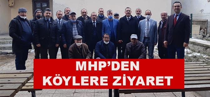 MHP'den mahalle muhtarlarına ziyaret