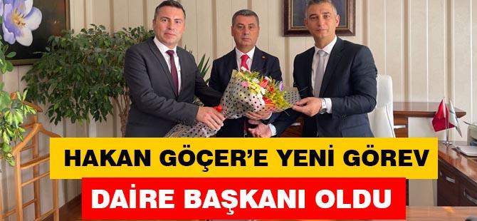 Hakan Göçer'e yeni görev