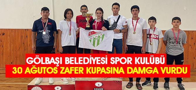 Gölbaşı Belediyesi Spor Kulübü Şampiyonluklar İle Döndü