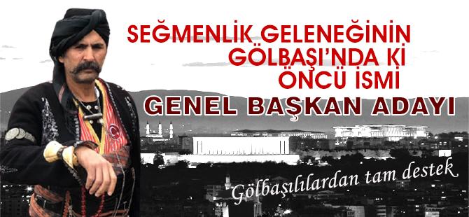 Uğur Okman Ankara Kulübü Derneği Genel Başkanı adayı