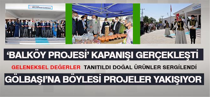"""""""Balköy Projesi"""" kapanış toplantısı yapıldı"""