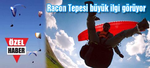 Racon Tepesinde Yamaç Paraşütü