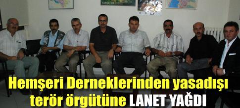 GÖLBAŞI HEMŞERİLER BİRLİGİ TOPLANTI YAPTI PKKYI KINADI...