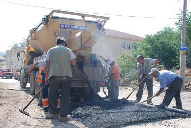Çankaya ile B.şehirin asfalt kavgası