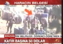 Bu da PKK gümrüğü