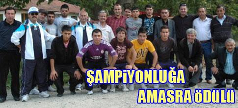 G.O.P Spor Şampiyonluğunu Amasra'da Kutladı