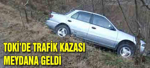 TOKİ de trafik kazası