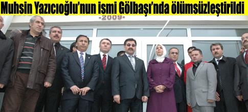 Muhsin Yazıcıoğlu Gençlik Merkezi açıldı