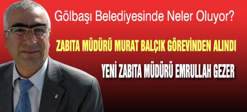 Murat Balçık görevinden aldı