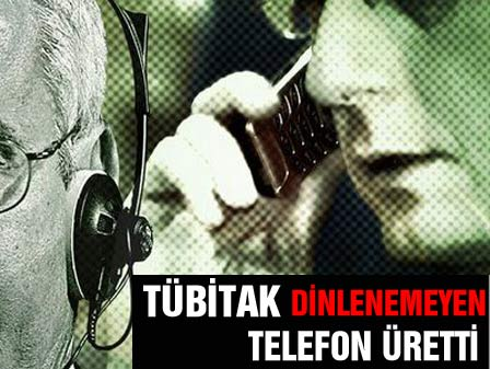 TÜBİTAK dinlenemeyen telefon üretti