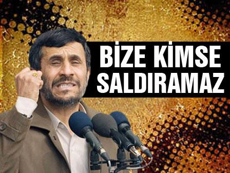 İşte Ahmedinejadın cevabı