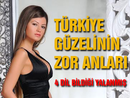 Türkiye güzeli Okanın eline düşerse