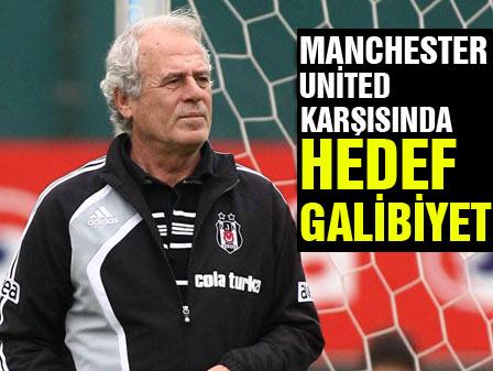 M.United karşısında hedef galibiyet