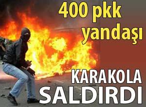 Mersinde polis merkezine saldırı