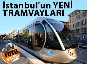 İstanbulun yeni tramvayları