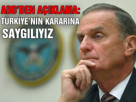 Türkiyenin kararına saygılıyız