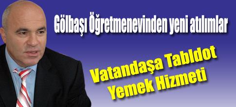 GÖLBAŞI ÖGRETEVİNDE ÖGLE YEMEKLERİ 6-7 BİN LİRA..