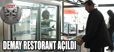 Demay restorant hizmetinizde