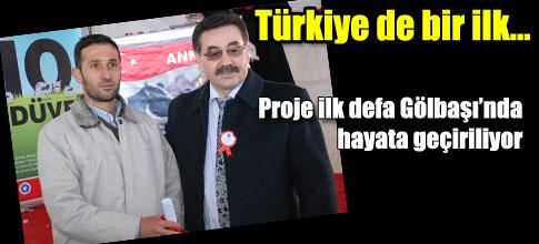 Türkiye de bir ilk…