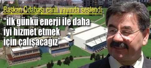 ODABAŞI BAŞKENT TV'DE
