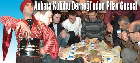 Ankara Kulübünden PİLAV GECESİ