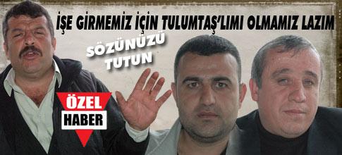 """İŞ VAADİNE KARŞILIK OY"""""""