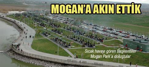 BAŞKENTLİLER MOGAN'A AKIN ETTİ