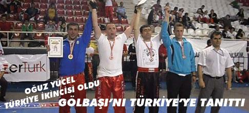 Oğuz Yücel Türkiye 2.si oldu