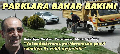 PARKLAR BAHARA HAZIR