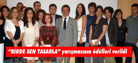 """""""BİRDE SEN TASARLA"""" yarışmasının ödülleri verildi"""
