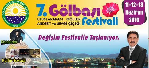 .Gölbaşı Uluslararası Göller, Andezit ve Sevgi Çiçeği Festivalinde buluşalım