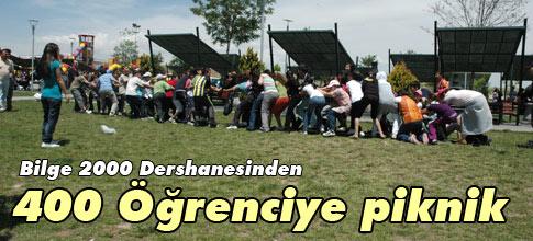 Bilge 2000den 400 öğrenciye piknik