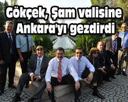Gökçek, Ankarayı gezdirdi
