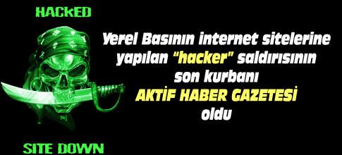 Yerel basına hackersaldırısı